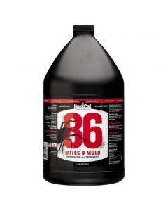86 Mites and Mold 1 Gallon Concentrate (Makes 5 Gallons) (4/Cs)